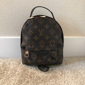Handbags - Women's Mini Canvas Backpack